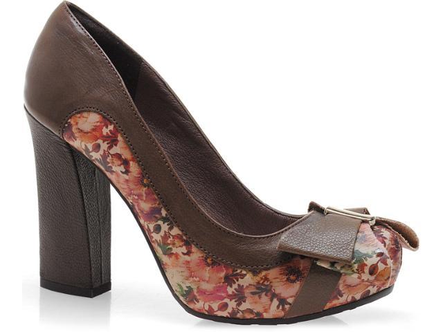 Sapato Feminino Tanara 3201 Caramelo