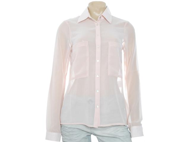 Camisa Feminina M.officer 115404119 Rose
