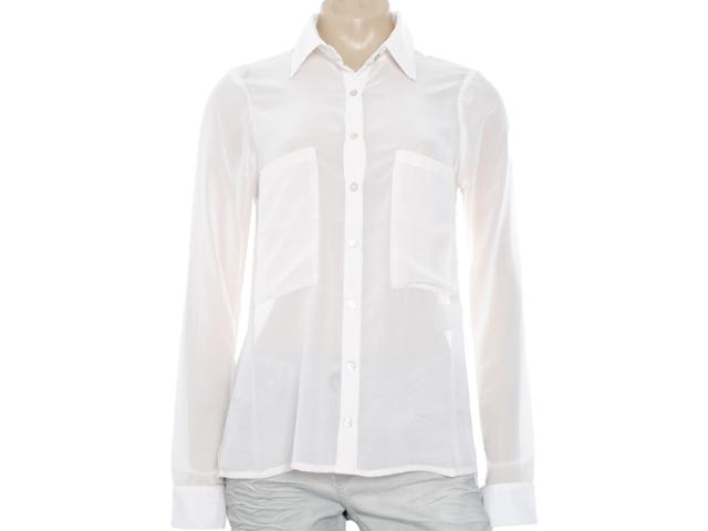 Camisa Feminina M.officer 115404119 Off White