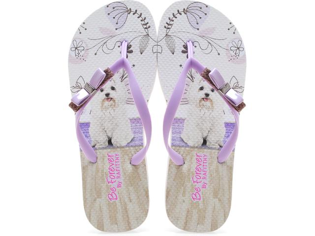 Chinelo Feminino Rafitthy 11.31702 Muave Maltes Off Lilas
