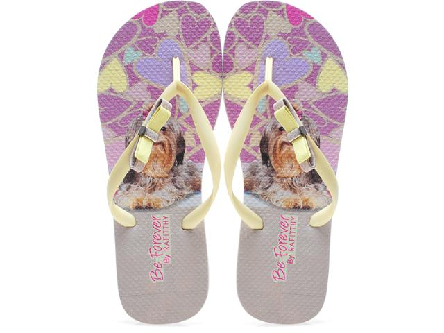 Chinelo Feminino Rafitthy 11.31702 Lhasa Colors Off Amarelo
