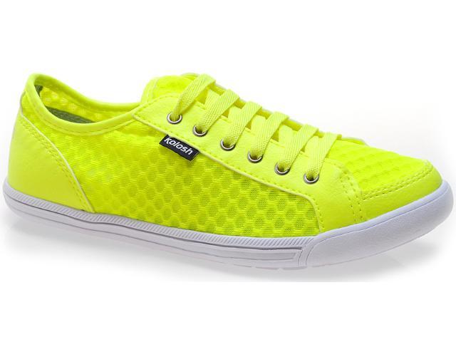 Tênis Feminino Kolosh C0060 Amarelo Neon
