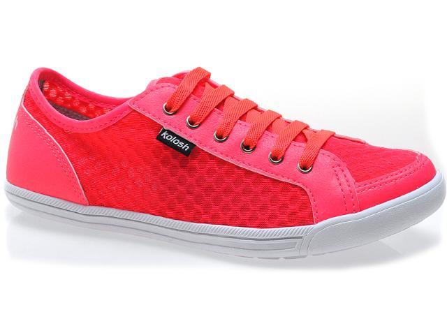 Tênis Feminino Kolosh C0060 Pink Neon