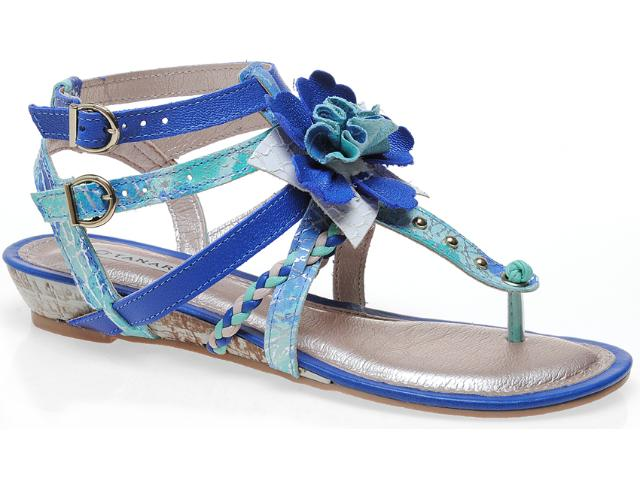 Sandália Feminina Tanara 3644 Azul