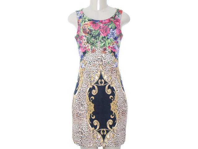 Vestido Feminino Intuição 122402 Estamapado Onca