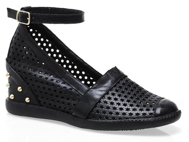 Summer Sneaker Feminino Anna Brenner 1005 Preto