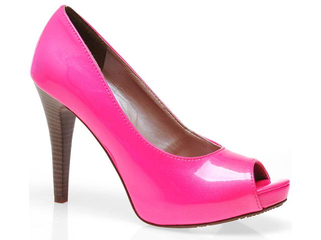Peep Toe Feminino Via Marte 10-10701 Pink