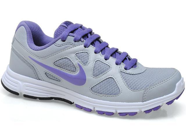 Tênis Feminino Nike 488151-006 Revolution Msl Cinza/branco/lilas