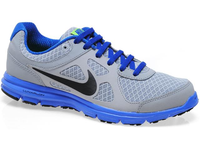 Tênis Masculino Nike 488216-009 Lunar Forever Cinza/royal