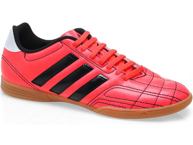 Tênis Masculino Adidas Q34533 Goletto iv in Laranja Neon/preto