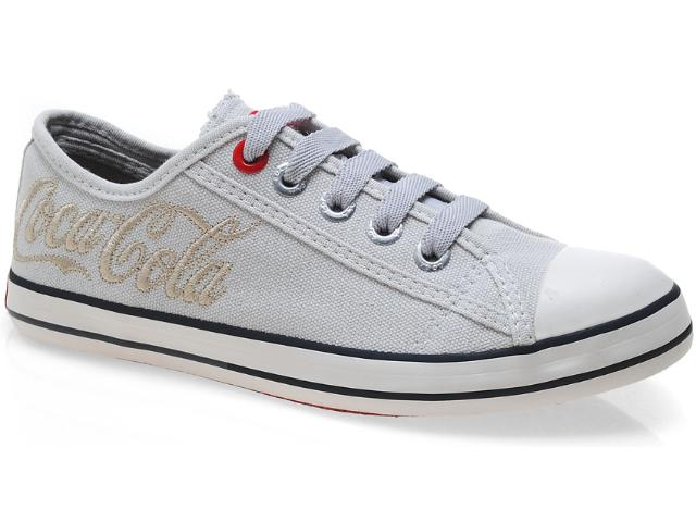Tênis Feminino Coca-cola Shoes Cc0160 Off White