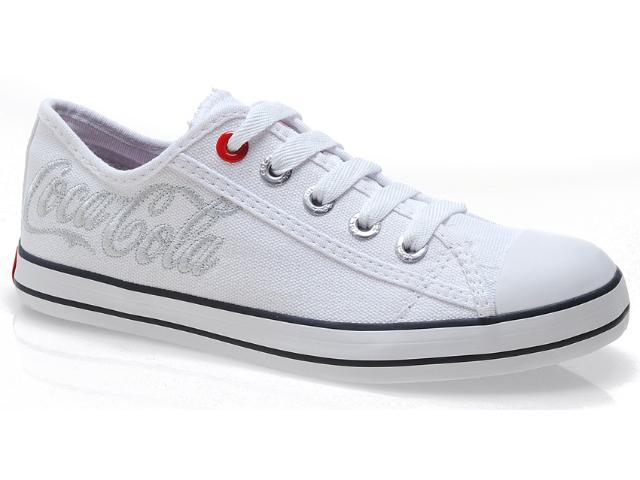 Tênis Feminino Coca-cola Shoes Cc0160 Branco