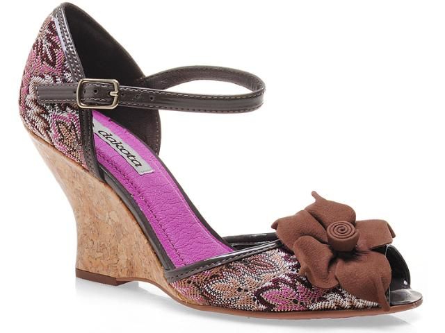 Sandália Feminina Dakota 4471 Chocolate