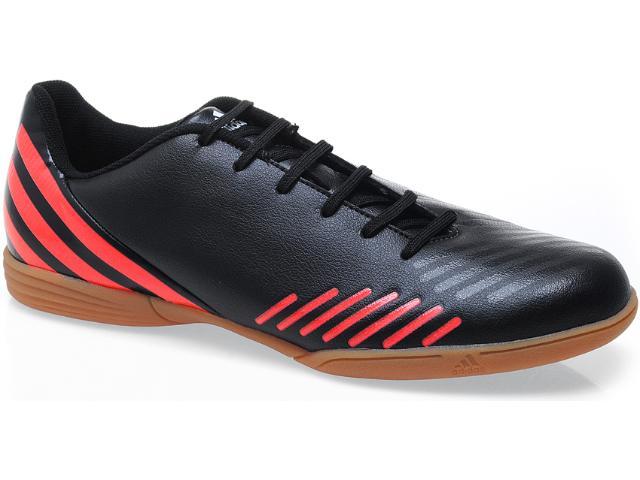 Tênis Masculino Adidas Q20932 Predito lz in Preto/vermelho