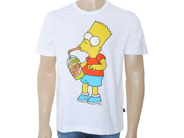 Camiseta Masculina Cavalera Clothing 01.01.6903 Branco