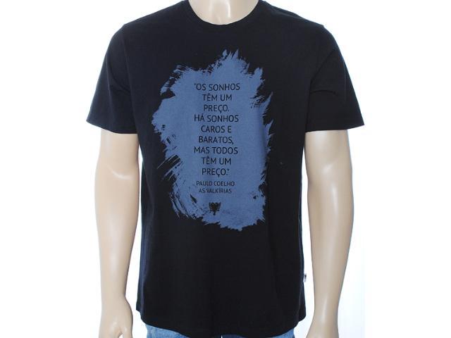 Camiseta Masculina Cavalera Clothing 01.01.6969 Preto