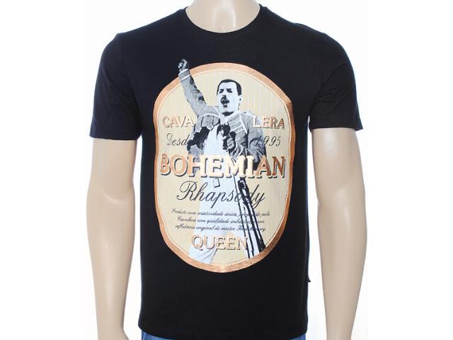 Camiseta Masculina Cavalera Clothing 01.01.6859 Preto