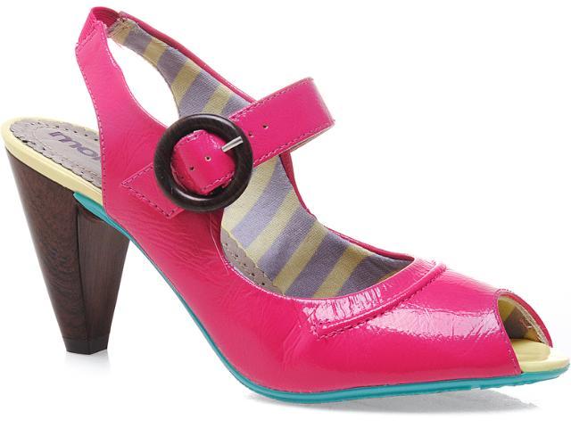Peep Toe Feminino Moleca 5097201 Pink