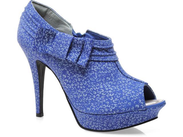 Open  Feminino Tanara 3081 Azul