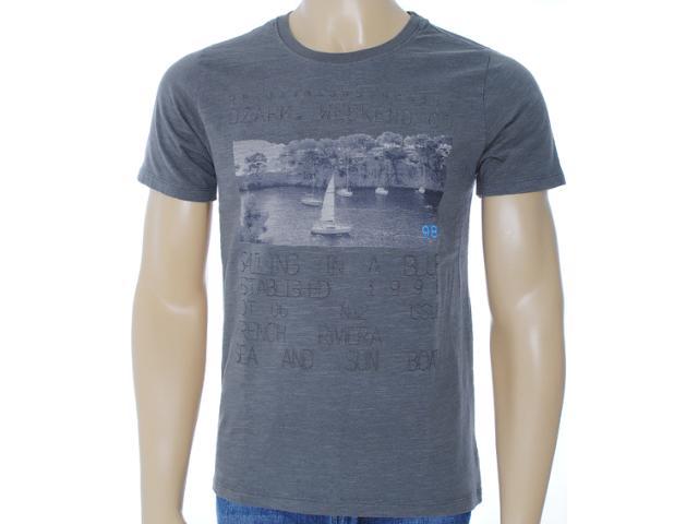 Camiseta Masculina Dzarm 6byx Nlp10 Grafite