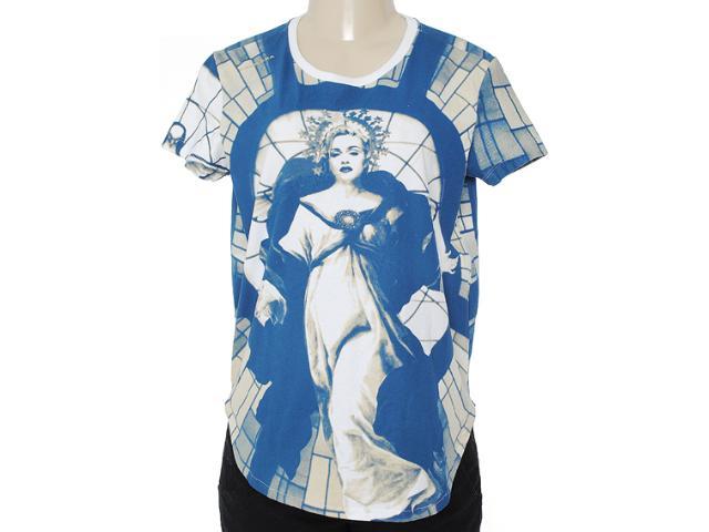 Blusa Feminina Cavalera Clothing 09.01.2750 Estampado Marinho