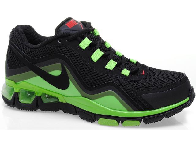 Tênis Masculino Nike 535919-003 Air Max tr 2k12 Preto/limão