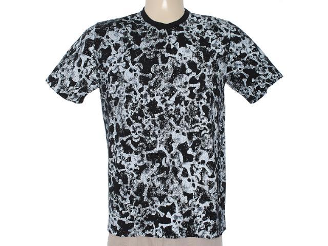 Camiseta Masculina Cavalera Clothing 01.01.6705 Preto