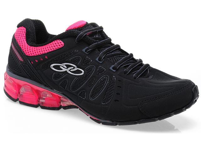 Tênis Feminino Olympikus Argon 920 Preto/pink