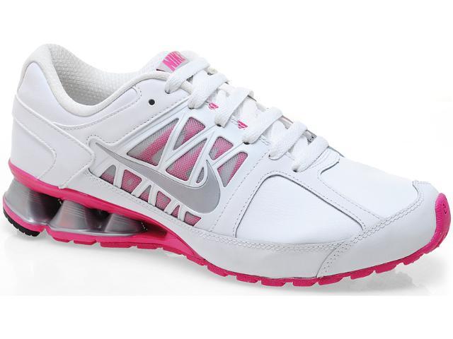 Tênis Feminino Nike Reax 472646-100 Branco/pink