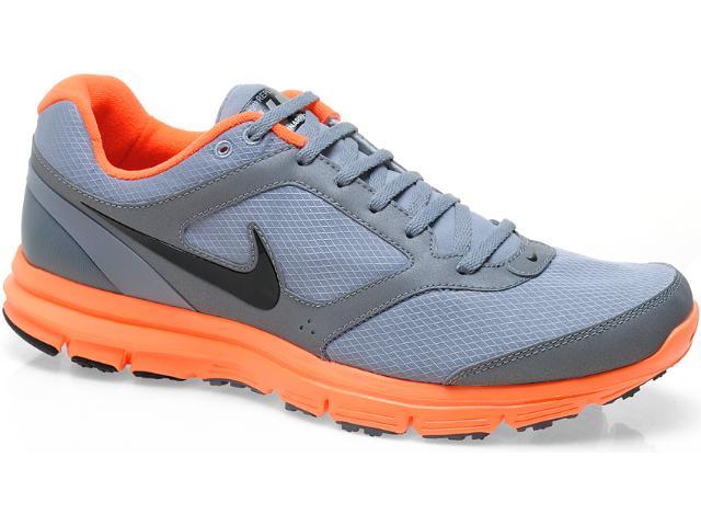 Tênis Masculino Nike Lunarfly 472523-005 Cinza/laranja