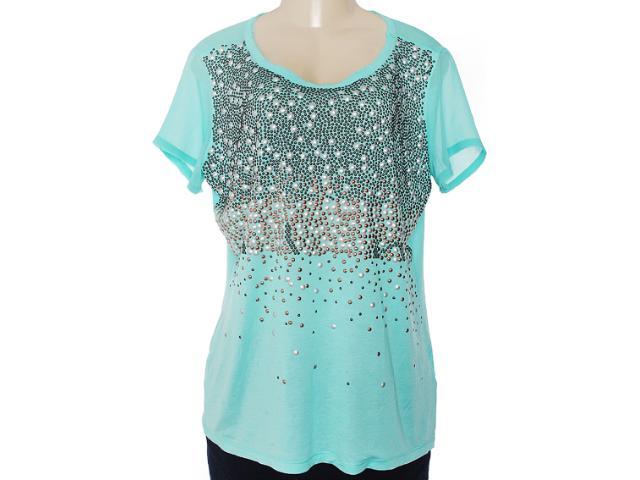 Camisa Feminina Lafort E13v635 Verde Agua