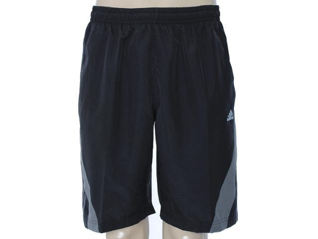 Bermuda Masculina Adidas X53744 Preto/chumbo