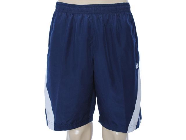 Bermuda Masculina Adidas X53743 Marinho/branco