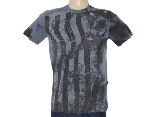 Camiseta Masculina Cavalera Clothing 01.01.5966 Chumbo