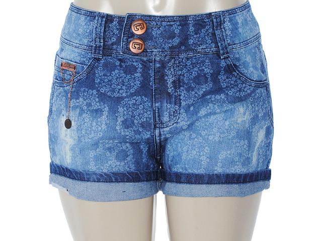 Short Feminino Lado Avesso 82223 Jeans