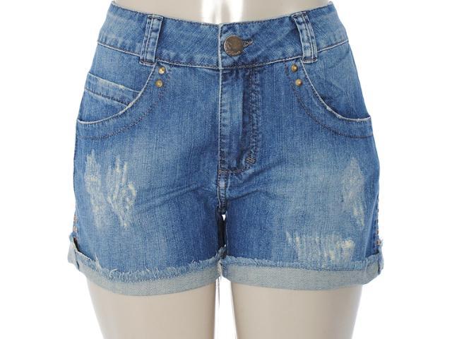 Short Feminino Lado Avesso 82381 Jeans