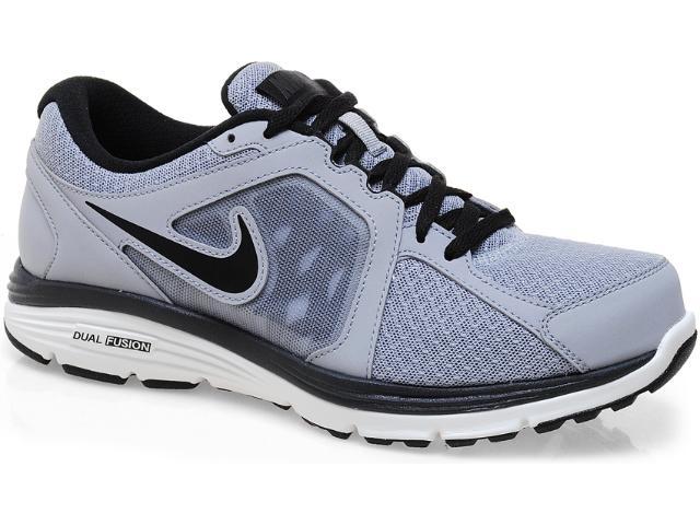 Tênis Masculino Nike 525761-014 Dual Fusion Run Msl Cinza/preto/branco