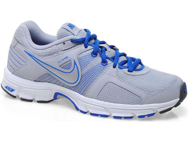 Tênis Masculino Nike 538407-004 Air Retaliate 2 Cinza/azul/branco