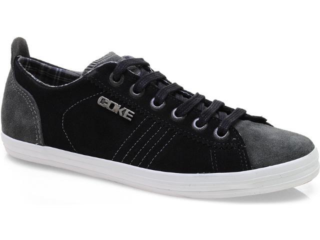 Tênis Masculino Coca-cola Shoes Cc0371 Preto