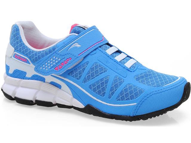 Tênis Feminino Kolosh 8121 Azul/branco/pink