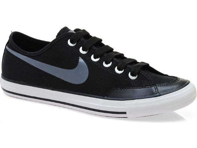 Tênis Masculino Nike 474141-005 go Low Cnvs br Preto/cinza