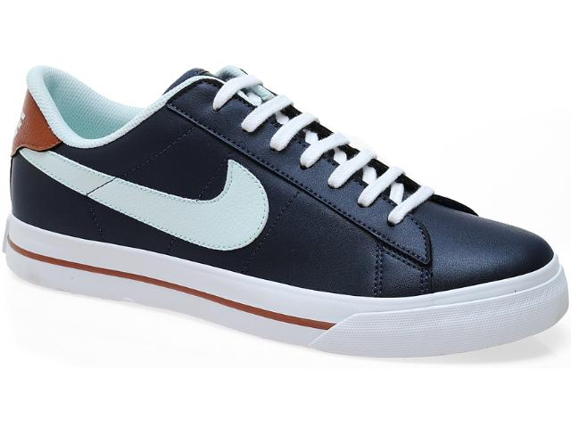 Tênis Masculino Nike 580442-400 Sweet Classic Low sl Marinho/marrom