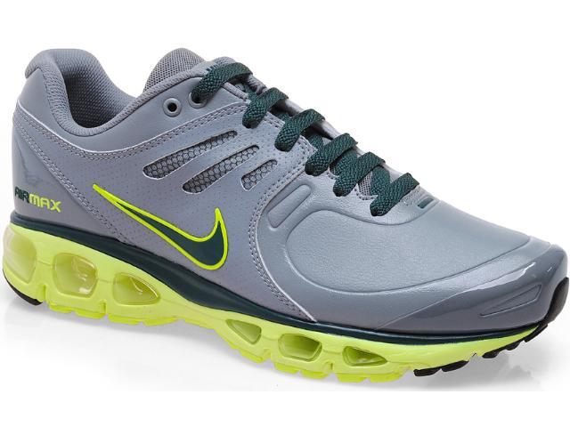 Tênis Masculino Nike 526326-007 Air Max Tailwind 2010 sl Cinza/limão