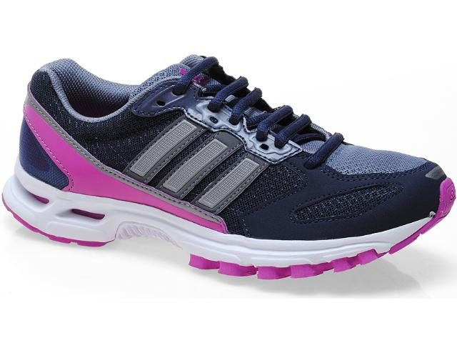 Tênis Feminino Adidas G65111 Kanadia Road w Marinho/violeta