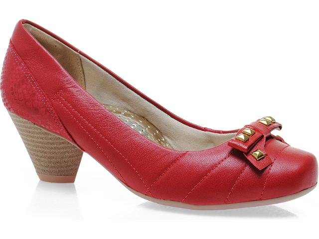 Sapato Feminino Campesi 3522 Vermelho
