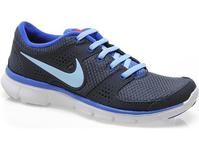 Tênis Masculino Nike 525754-016 Flex Experience rn Chumbo/azul