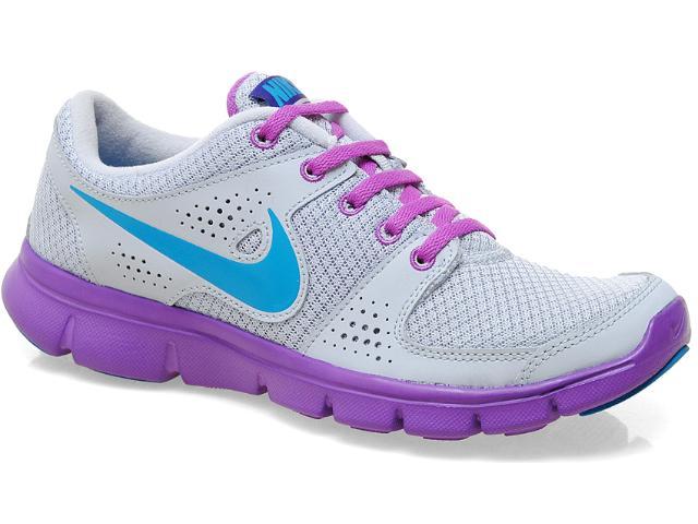 Tênis Feminino Nike 525754-009 Flex Experience rn Cinza/lilas