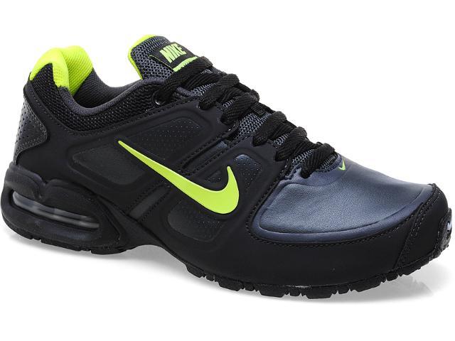 Tênis Masculino Nike 512765-006 Air Max Lte ii sl Preto/limão