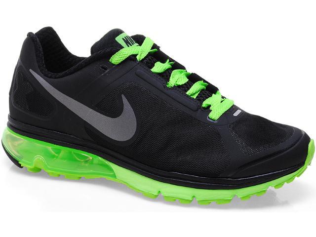 Tênis Masculino Nike 539928-003 Air Max Finale Preto/limão