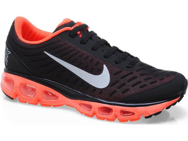 Tênis Masculino Nike 555416-008 Air Max Tailwind 5 Preto/laranja